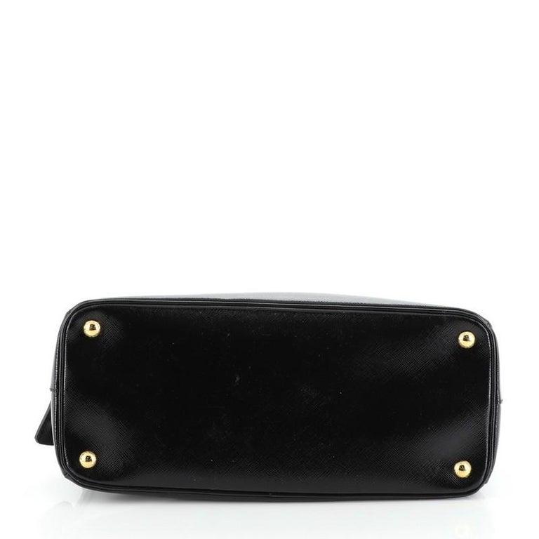 Prada Parabole Tote Vernice Saffiano Leather Medium For Sale 1