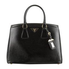 Prada Parabole Tote Vernice Saffiano Leather Medium