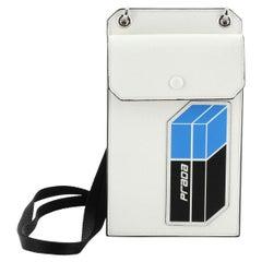 Prada Phone Holder Crossbody Bag Saffiano Leather