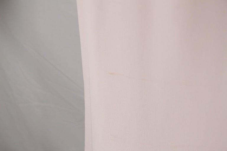Prada Pink Embellished Sleeveless Tunic and Pants Set IT Size 40 For Sale 2