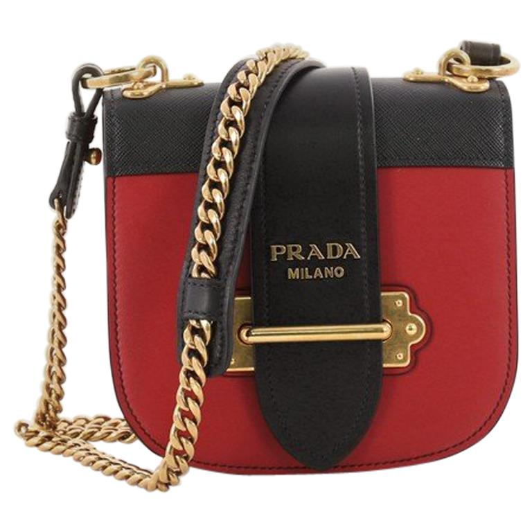 a2db5ac0217471 Prada Pionniere Crossbody Bag City Calfskin with Saffiano Leather Small For  Sale