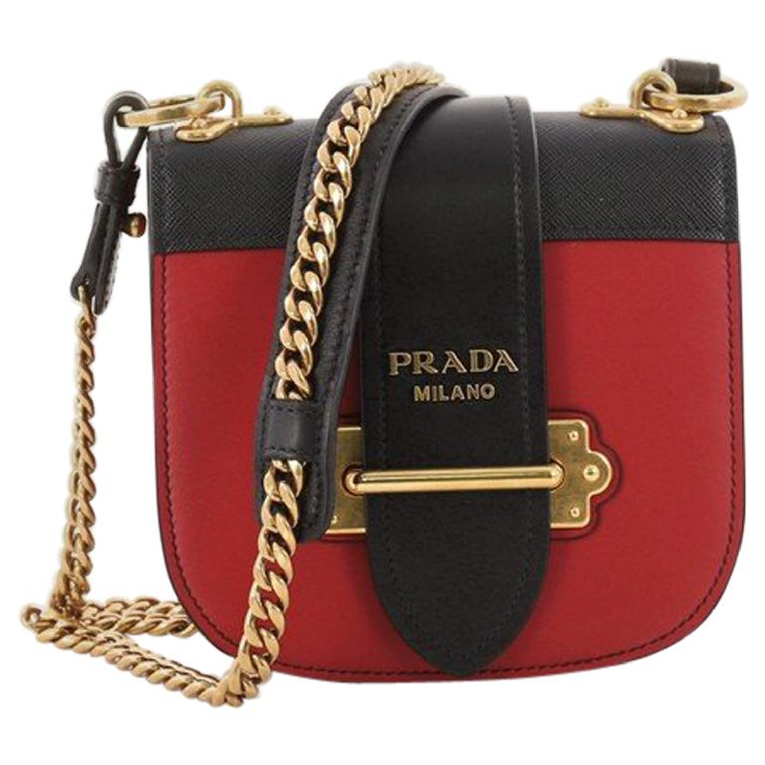 8bc56279d675 Prada Pionniere Crossbody Bag City Calfskin with Saffiano Leather Small at  1stdibs