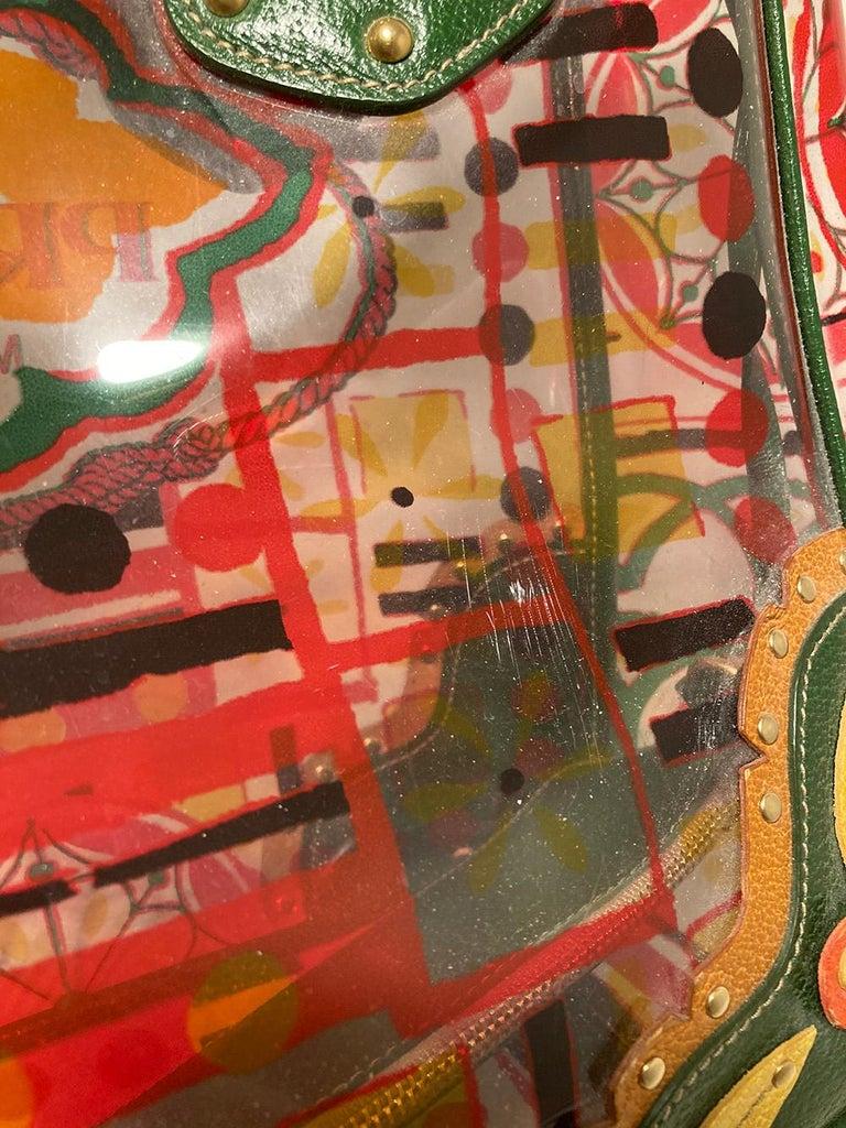 Prada Plex Stampato Tote  For Sale 2