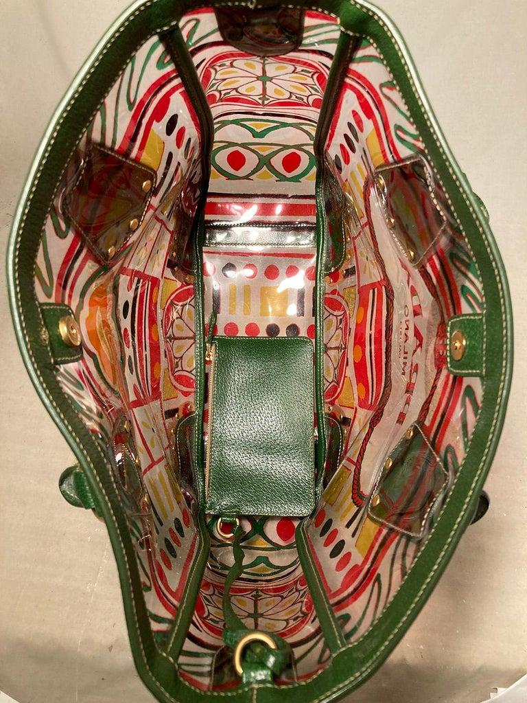 Prada Plex Stampato Tote  For Sale 3