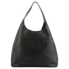Prada Pocket Hobo Cervo Leather Medium