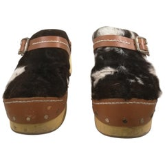 Prada Pony Hair Shoes