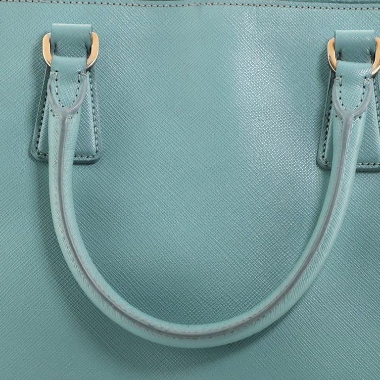 Prada Promenade Bag Saffiano Leather Large For Sale 2