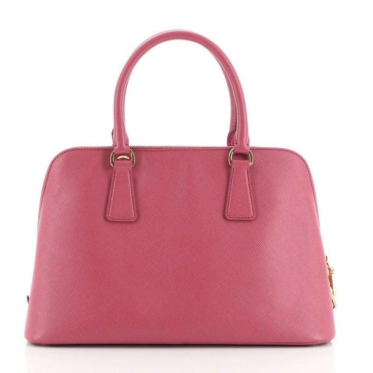 Prada Promenade Bag Saffiano Leather Medium In Good Condition For Sale In New York, NY