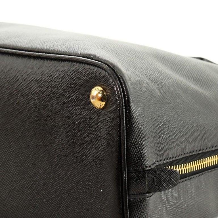 Prada Promenade Bag Saffiano Leather Medium For Sale 2