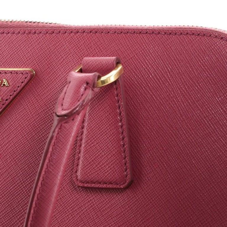 Prada Promenade Bag Saffiano Leather Medium For Sale 3