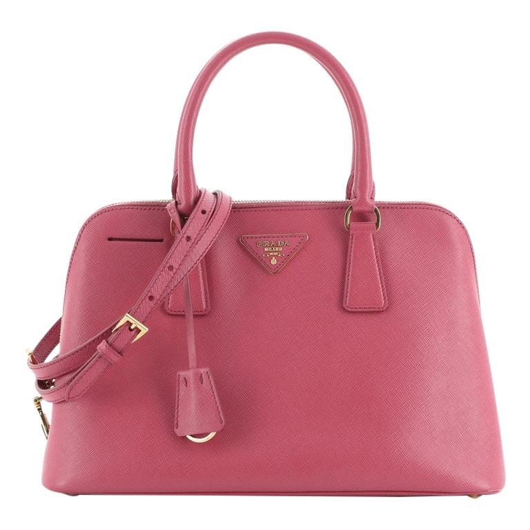 Prada Promenade Bag Saffiano Leather Medium For Sale