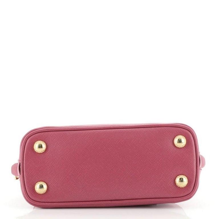 Women's or Men's Prada Promenade Bag Saffiano Leather Mini For Sale