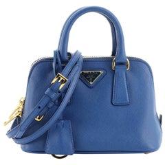 Prada Promenade Bag Saffiano Leather Mini