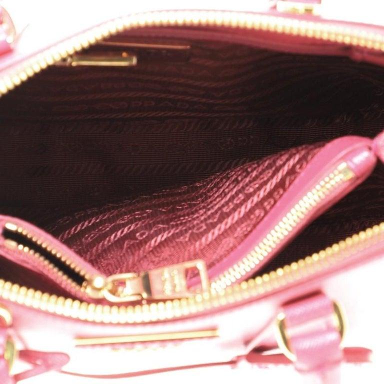 Prada Promenade Bag Saffiano Leather Small For Sale 2