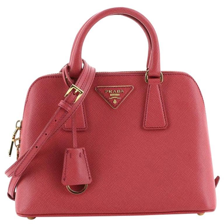 Prada Promenade Bag Saffiano Leather Small For Sale