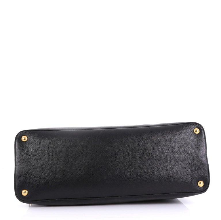 Prada Promenade Bag Saffiano Leather XL In Good Condition In New York, NY