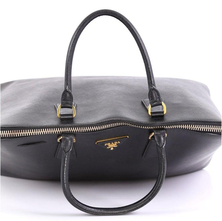 Prada Promenade Bag Saffiano Leather XL 2