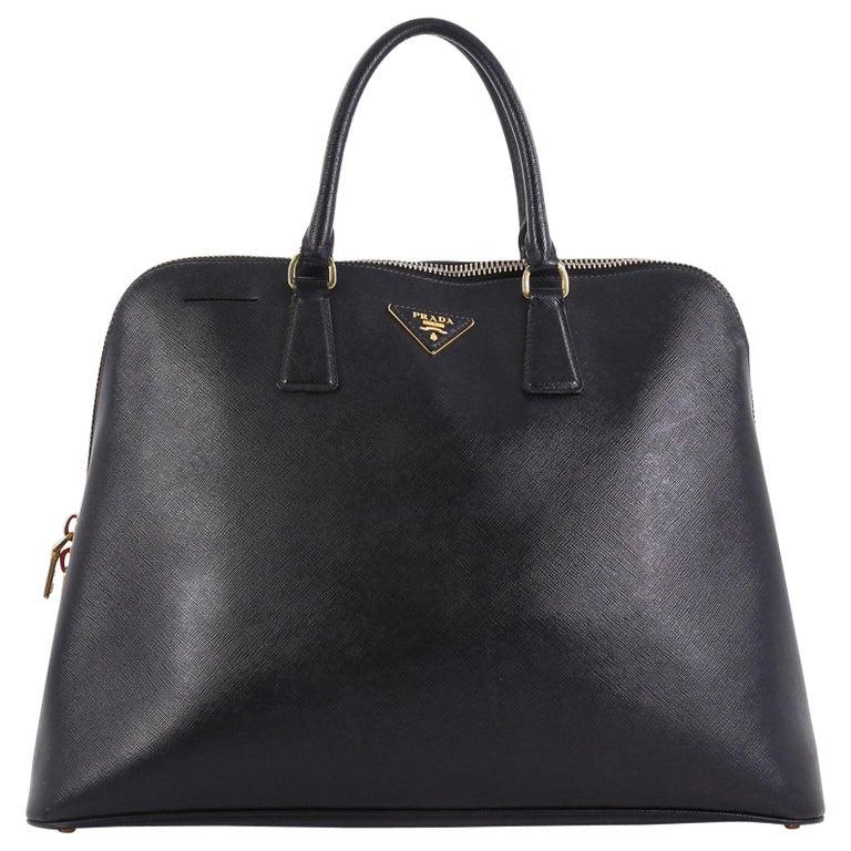 Prada Promenade Bag Saffiano Leather XL