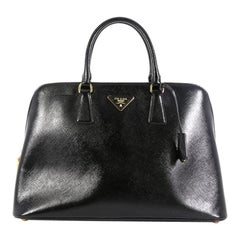 Prada Promenade Bag Vernice Saffiano Leather Large