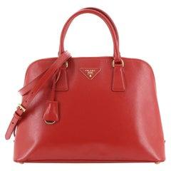 Prada Promenade Bag Vernice Saffiano Leather Large