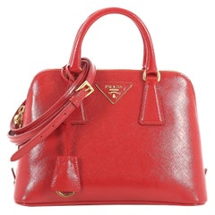 Prada Promenade Bag Vernice Saffiano Leather Small