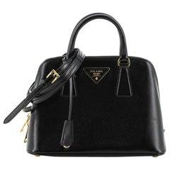 Prada Promenade Bag Vernice Saffiano Leather Small