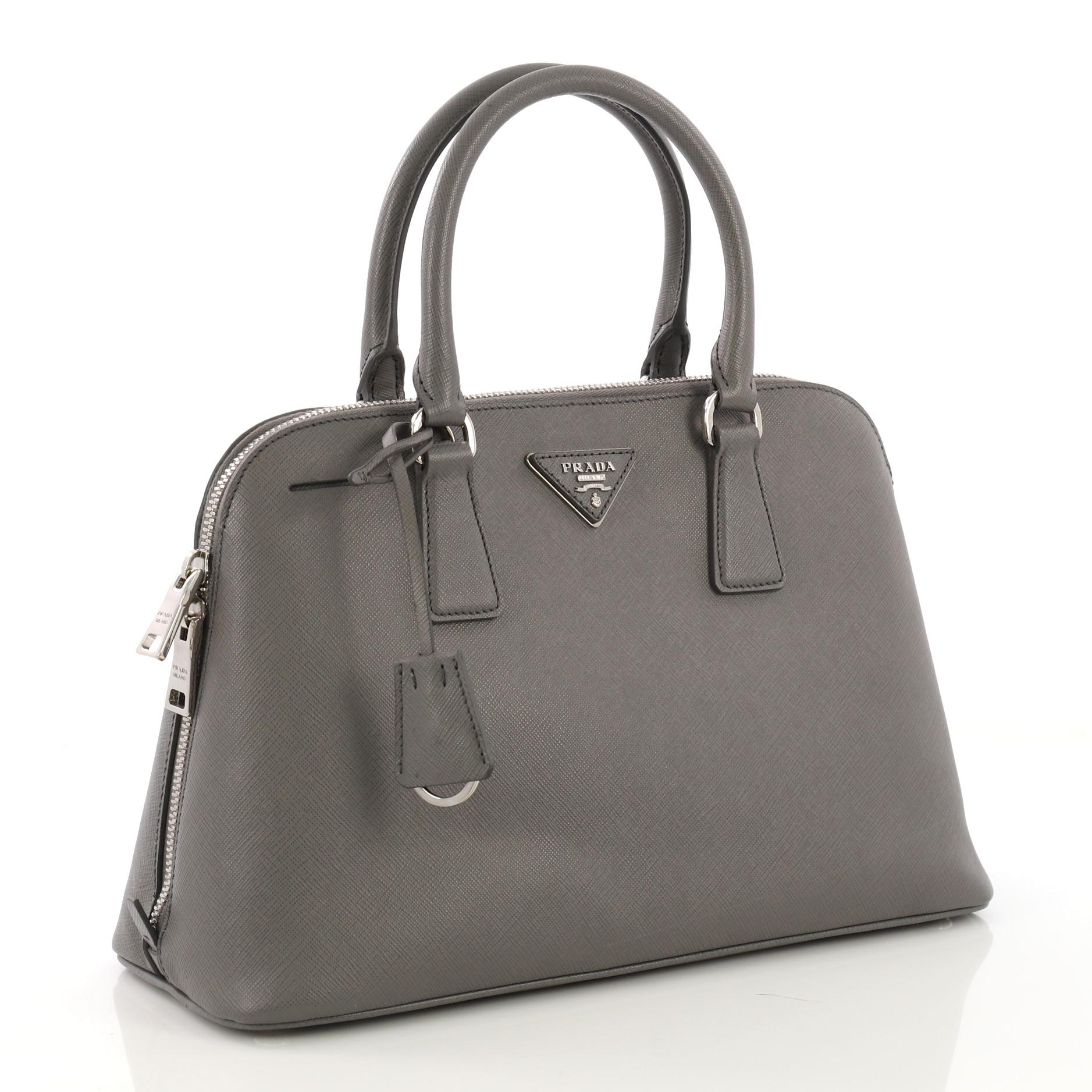 e56eb7ed65bd Prada Promenade Handbag Saffiano Leather Medium at 1stdibs