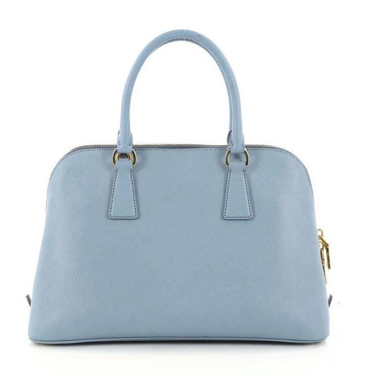 e6c1dccd5523 Prada Promenade Handbag Saffiano Leather Medium In Good Condition For Sale  In New York