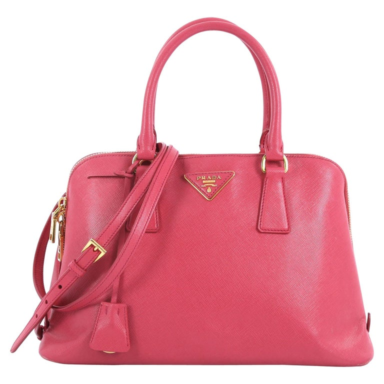 3f0da9cf997b Prada Promenade Handbag Saffiano Leather Medium For Sale at 1stdibs