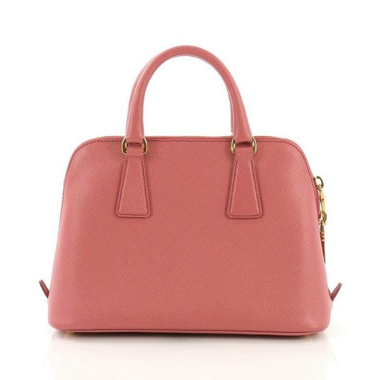 333151720894 Prada Promenade Handbag Saffiano Leather Small In Good Condition For Sale  In New York