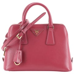Prada Promenade Handbag Vernice Saffiano Leather Small
