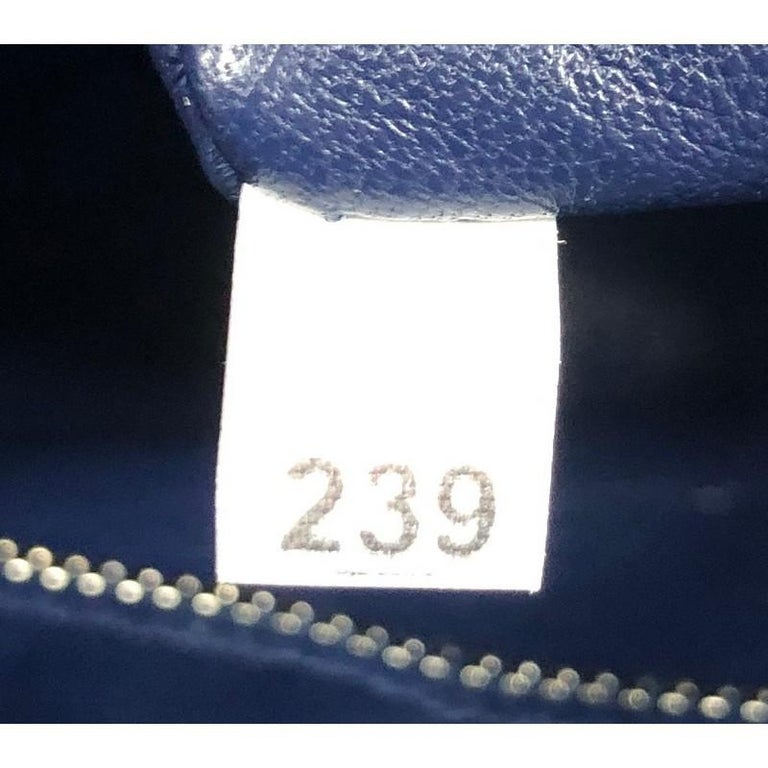 Prada Push Lock Zip Pouch Saffiano Leather For Sale 3
