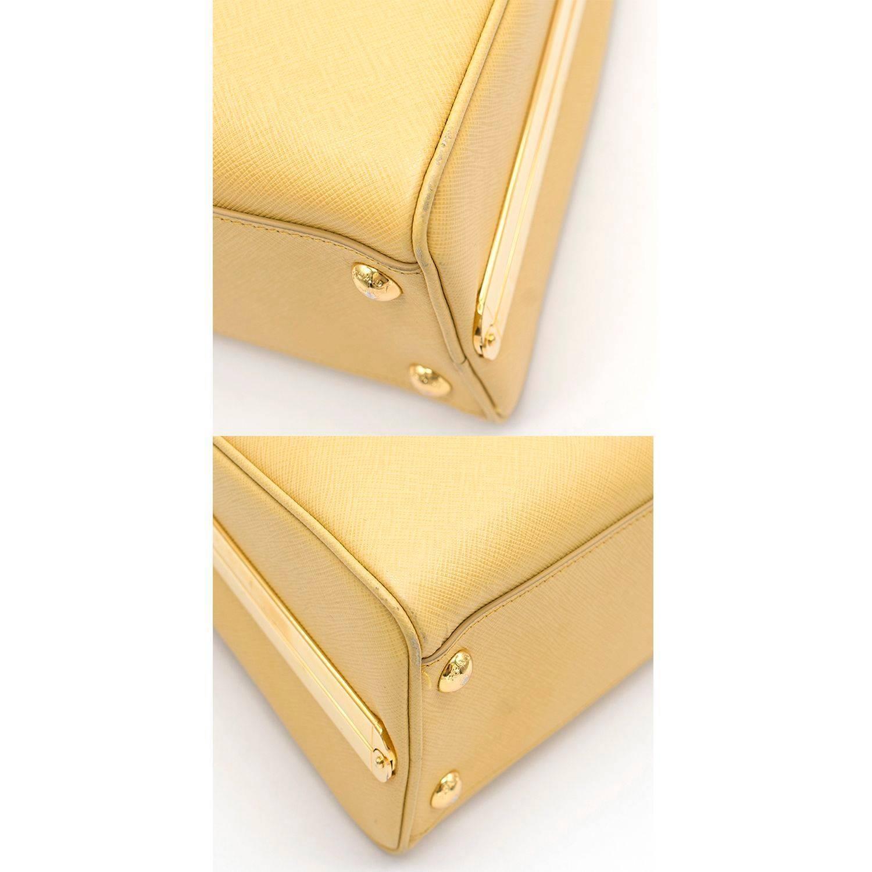 ... new zealand prada pyramid canary yellow top handle bag for sale 1 5e2dc  a0b64 788913c5fd0e8