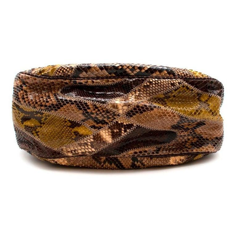 Prada Python Patchwork Shoulder Bag For Sale 1