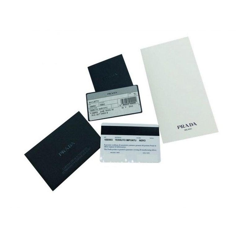 PRADA Quilted Nylon Tessuto Impuntu Bag - Black Nylon For Sale 6