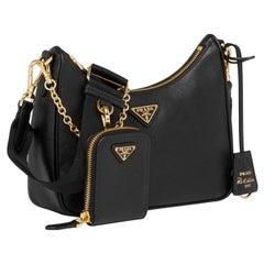 Prada Re-Edition 2005 Saffiano leather bag w/ gold hardware