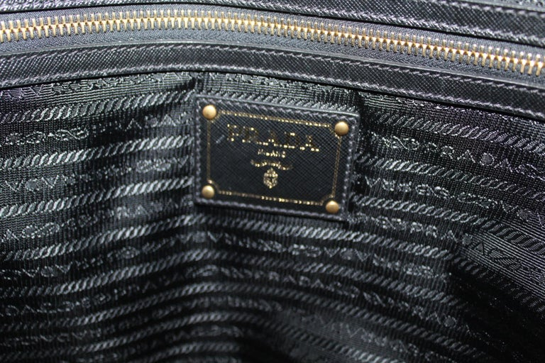 Prada Red Suede Shopper Bag 2