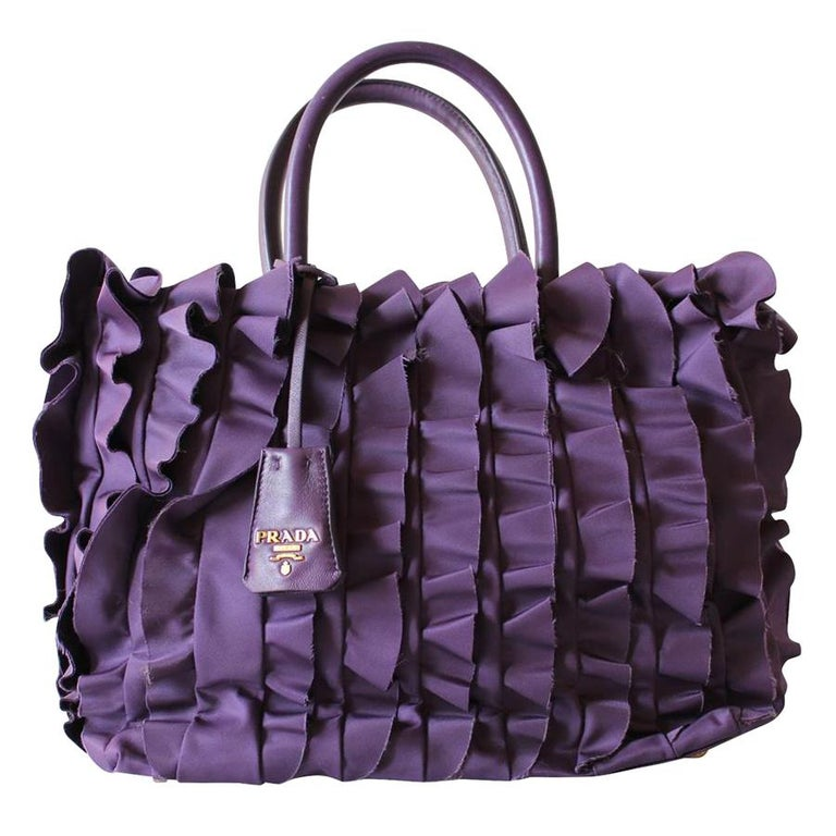 Prada Rouches Bag For Sale