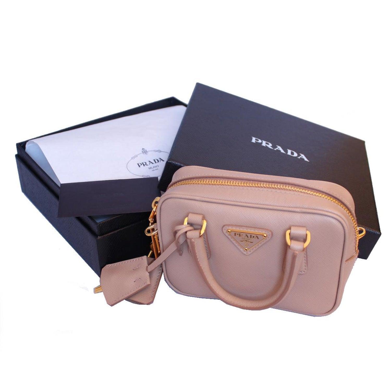 bc364e198c21 Prada Saffiano Lux Miniature Bag at 1stdibs