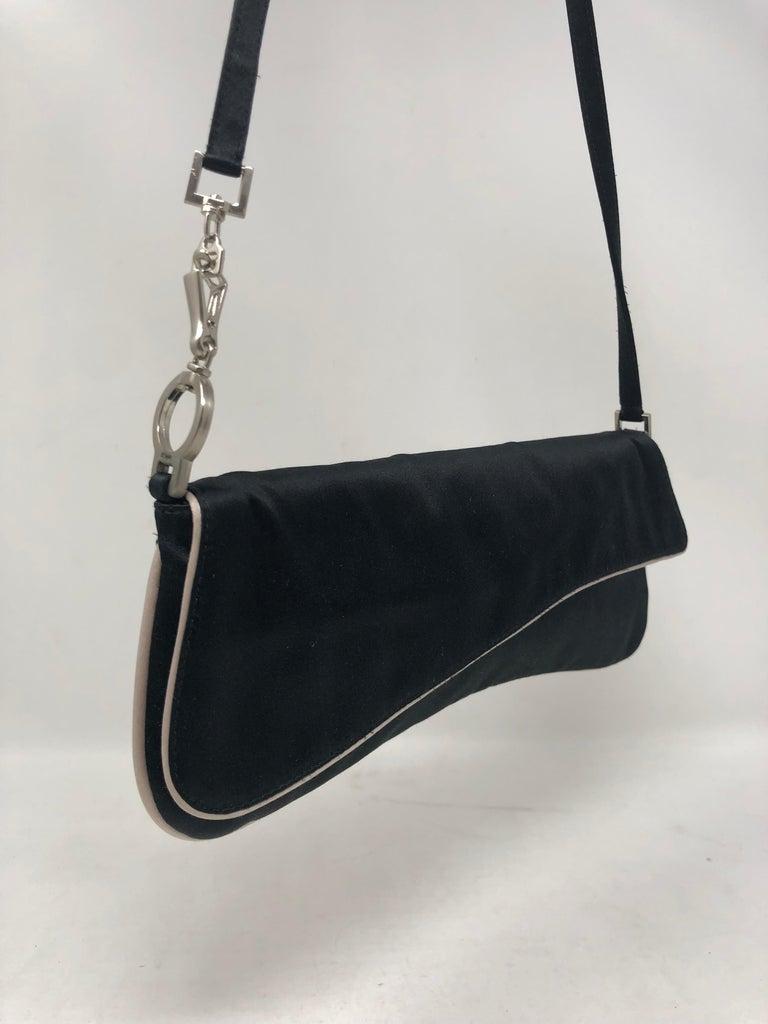 93461f3528c0 Prada Satin Shoulder Bag  Clutch For Sale at 1stdibs