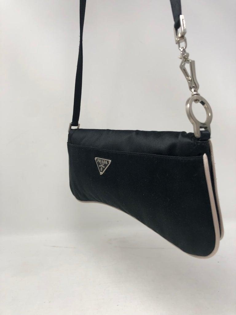 116a60f28c74 Women s or Men s Prada Satin Shoulder Bag  Clutch For Sale