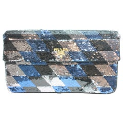 Prada Sequin Clutch