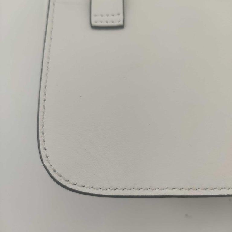 PRADA Shoulder bag in White Leather For Sale 6