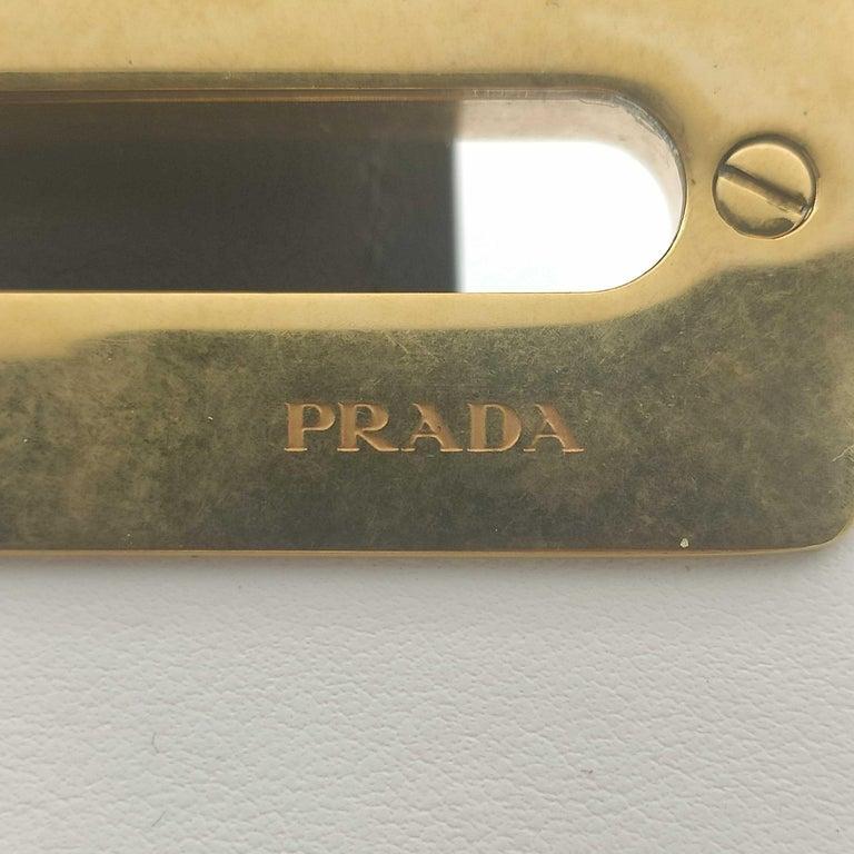 PRADA Shoulder bag in White Leather For Sale 1