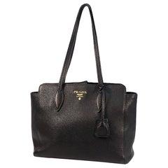 PRADA shoulder bag Womens tote bag 1BG111 NERO( black)