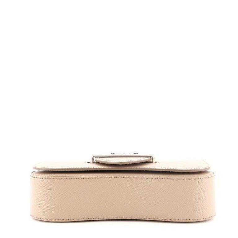 Women's or Men's Prada Sidonie Chain Shoulder Bag Saffiano Leather Medium For Sale