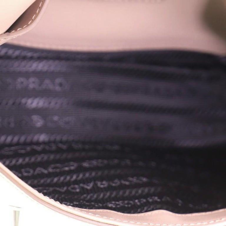 Prada Sidonie Chain Shoulder Bag Saffiano Leather Medium For Sale 1