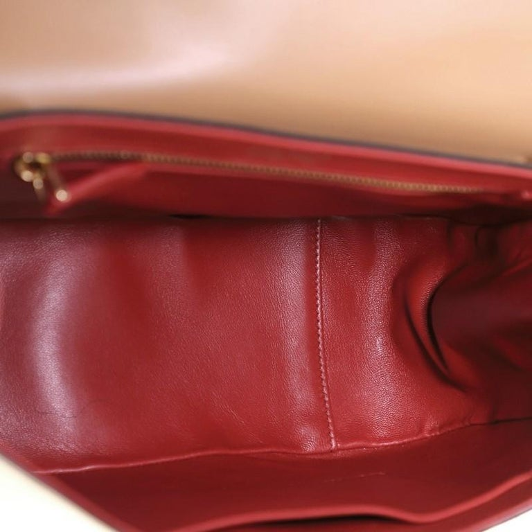 Prada Sidonie Top Handle Bag Saffiano Leather Large For Sale 1