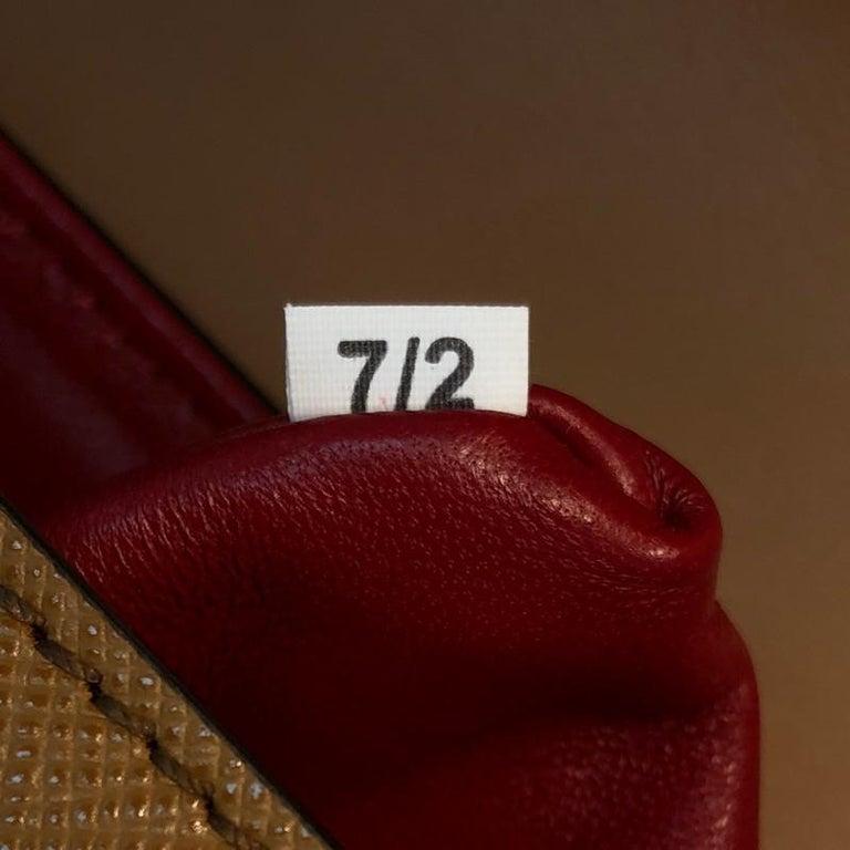 Prada Sidonie Top Handle Bag Saffiano Leather Large For Sale 2