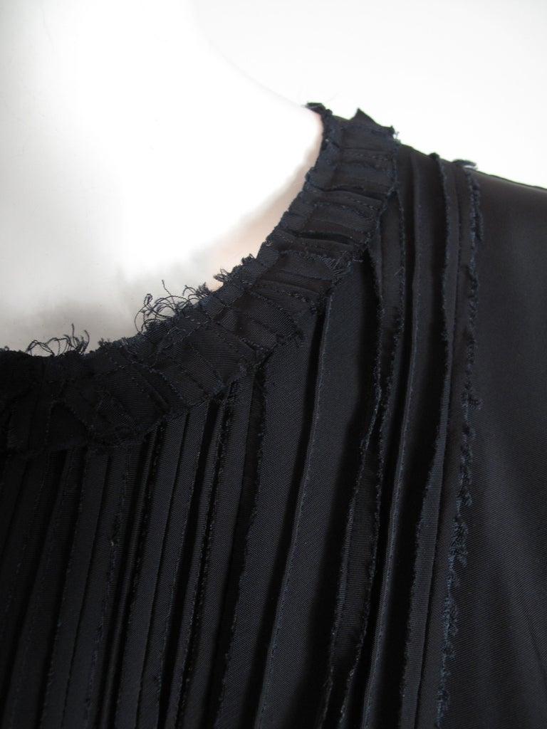 Women's Prada silk top and skirt, 1990s For Sale